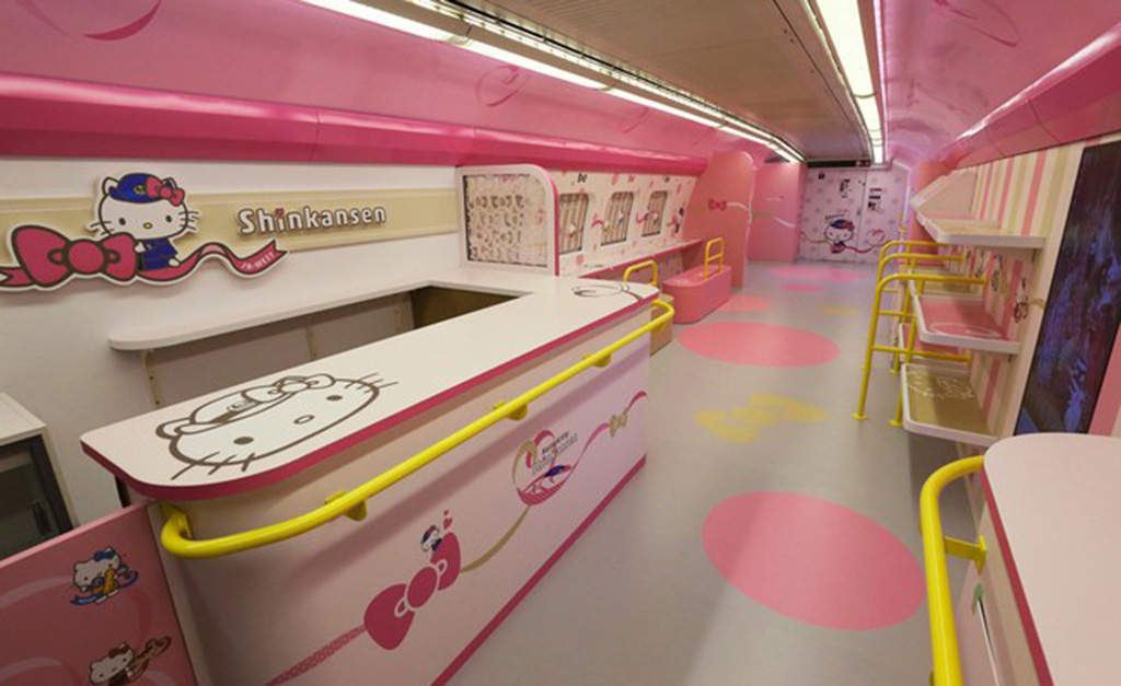 Trem da Hello Kitty