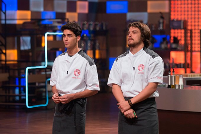 Helton saiu do MasterChef Revanche