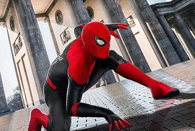 Imagem do pôster de 'Homem-Aranha: Longe de Casa'.
