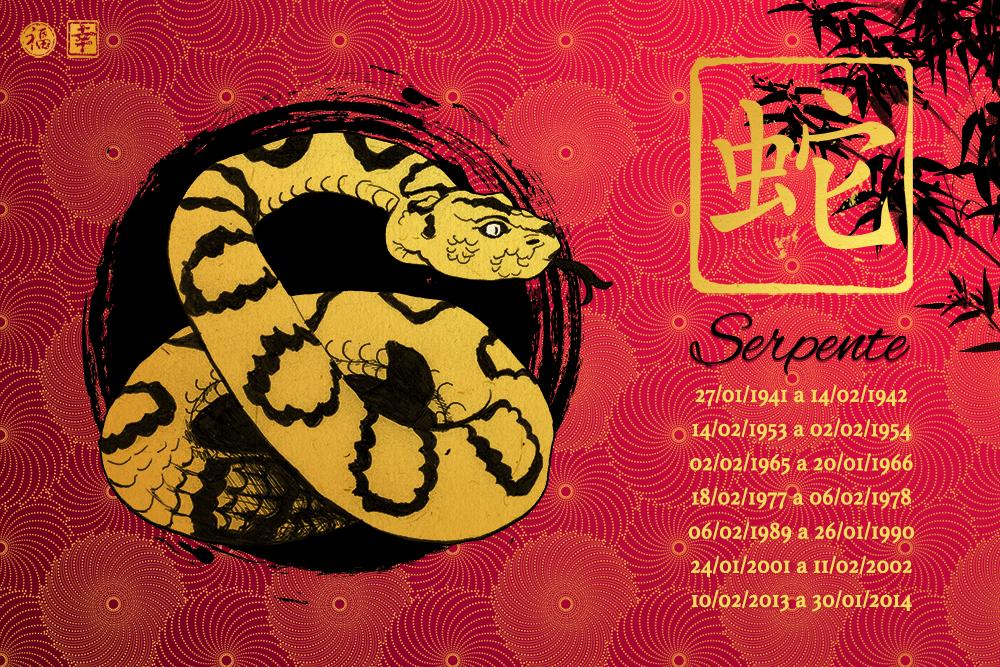 Horóscopo Chinês 2017 - Serpente