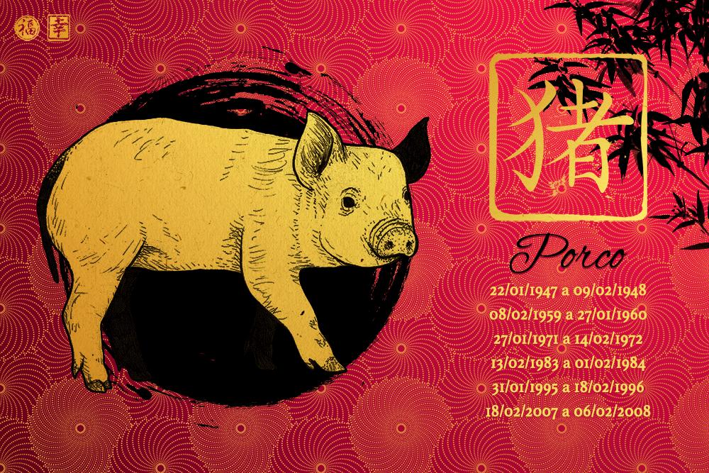 Horóscopo Chinês 2017 - Porco