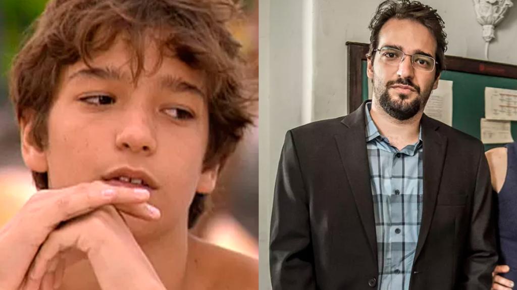 Humberto Carrão, antes e depois