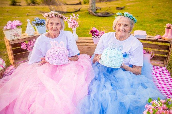Gêmeas completam 100 anos