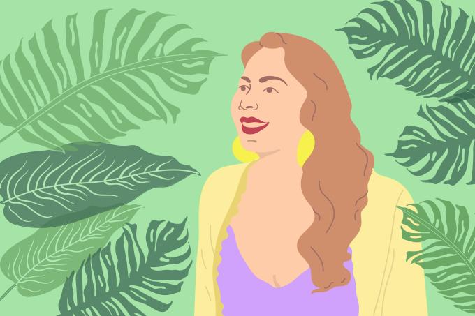 Patrícia Lima,  fundadora da Simple Organic Beauty (ilustração)