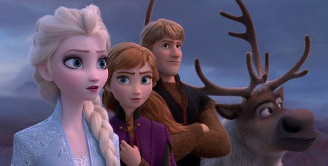 Imagem de divulgação de Frozen 2