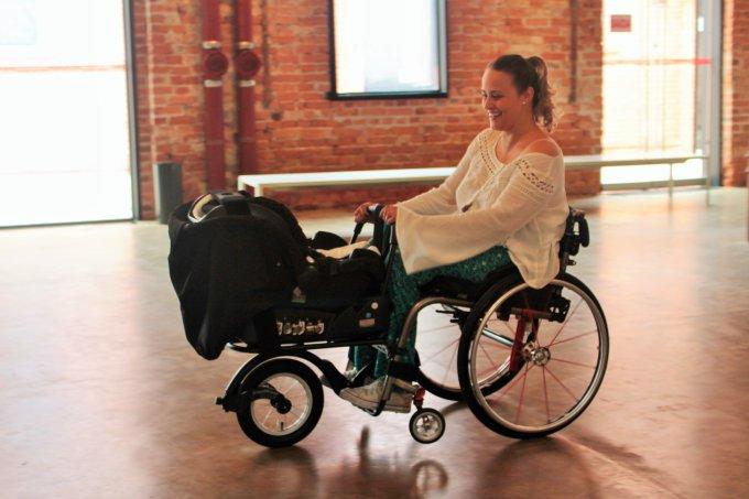 Tabata Contri – mãe com deficiência física