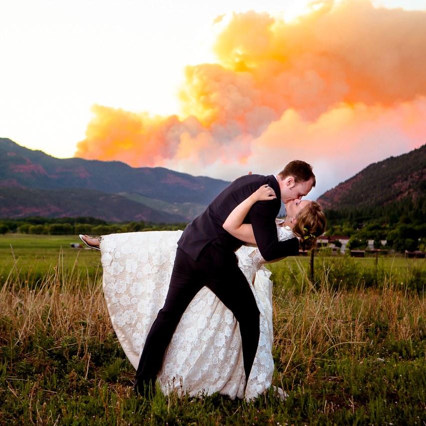 Incêndio no casamento