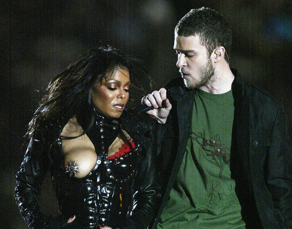 Janet Jackson Mamilo Justin Timberlake Super Bowl
