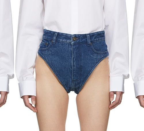 calcinha jeans