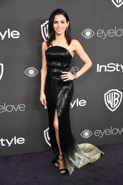 <strong>Jenna Dewan Tatum</strong> veste <strong>Julien MacDonald</strong>.