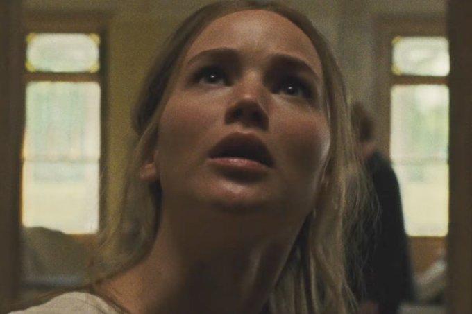 "Jennifer Lawrence em ""Mãe!"""