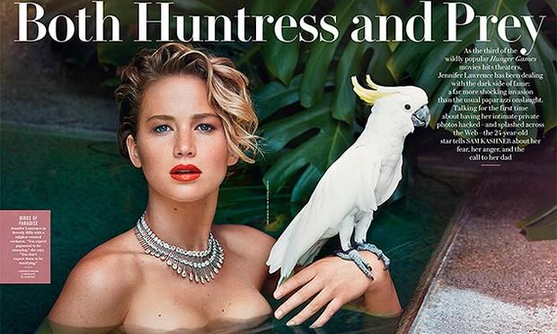 Jennifer Lawrence fala sobre vazamento de fotos nuas: 'É o meu corpo e deveria ser a minha escolha'
