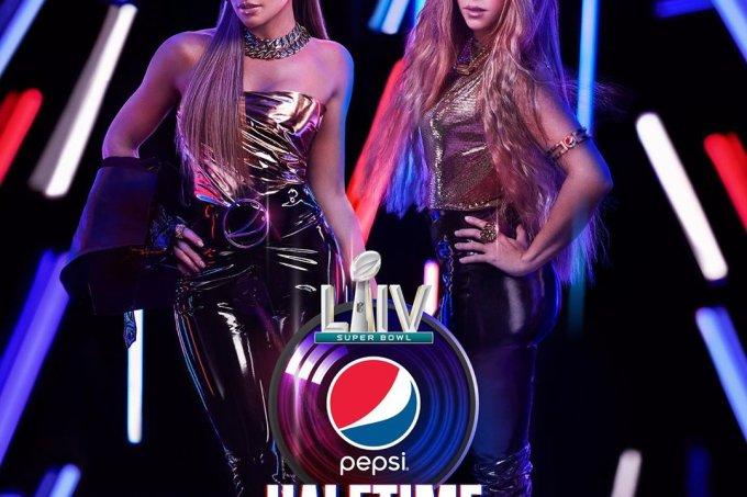 Jennifer Lopez e Shakira Super Bowl