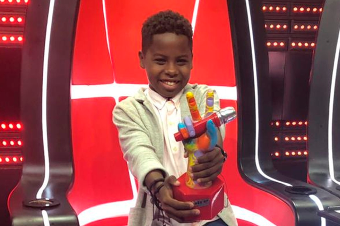 Jeremias vence the voice kids