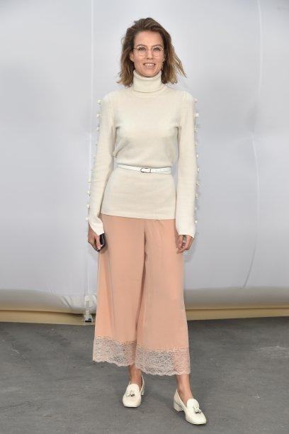 Johanna Stein Birman no desfile da Chanel