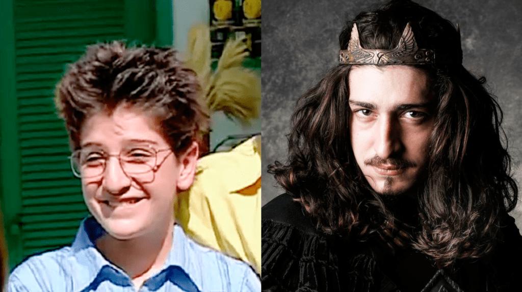 Johnny Massaro, antes e depois