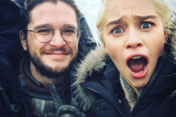 jon snow e daenerys targaryen game of thrones