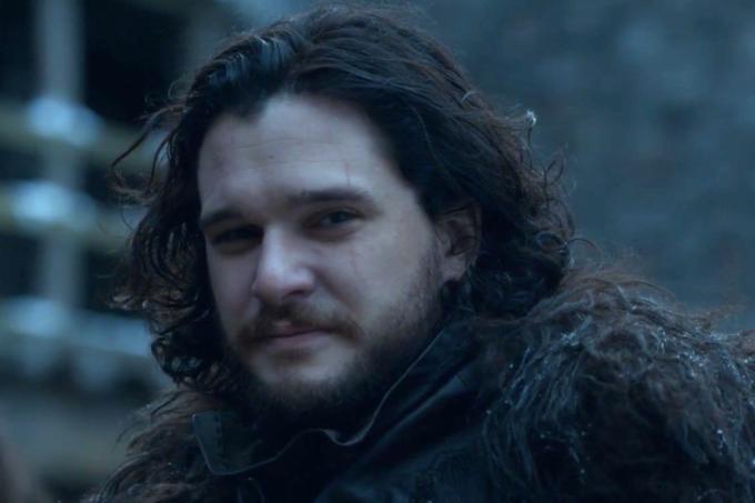 Jon Snow reencontra Fantasma