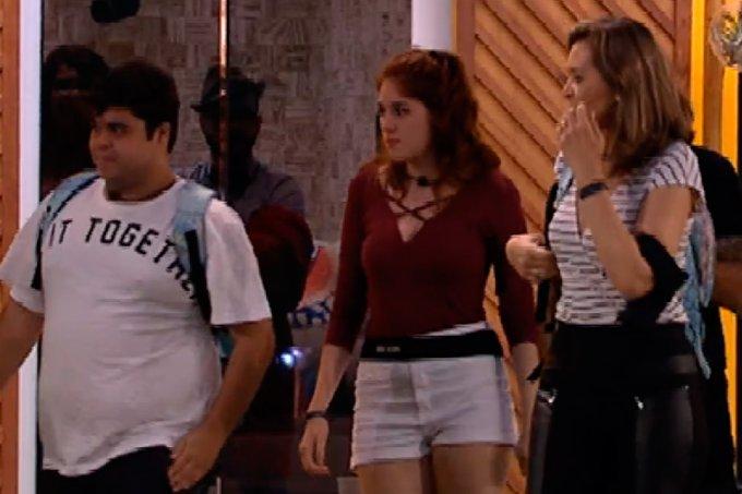Jorge e Eva eliminados BBB18