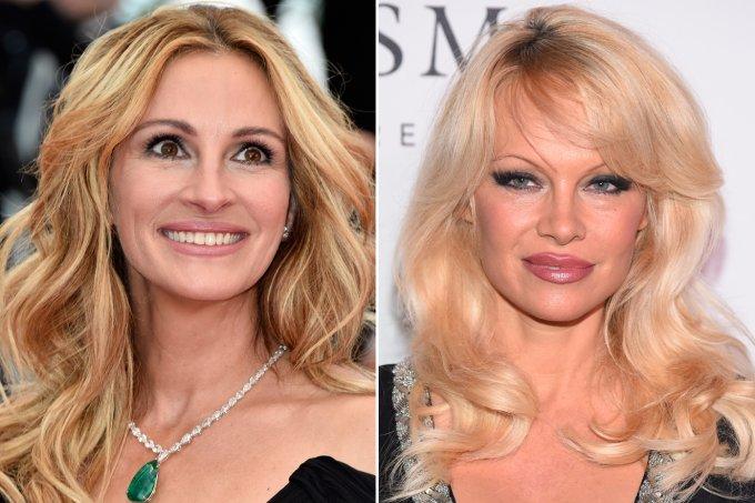 Julia Roberts e Pamela Anderson