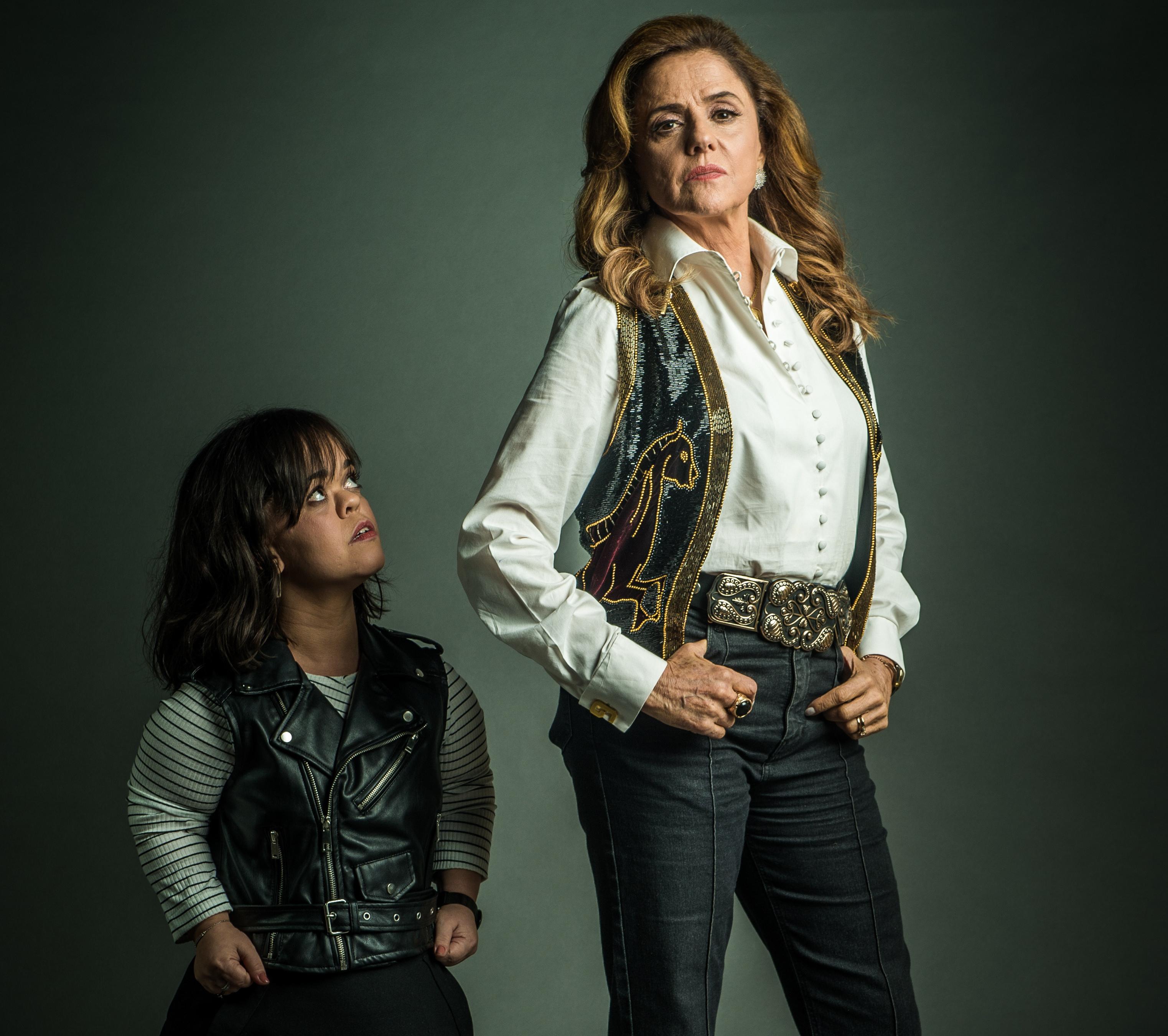 Juliana Caldas e Marieta Severo
