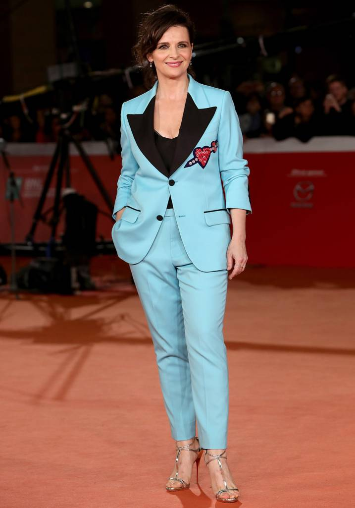 Juliette Binoche Veste Gucci.
