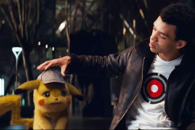 Justice Smith em Detetive Pikachu