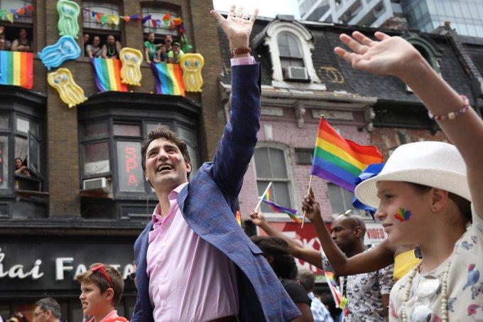 Justin Trudeau Parada do Orgulho LGBT Toronto