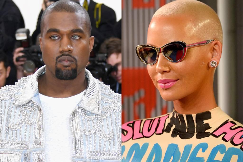 Kanye West e Amber Rose