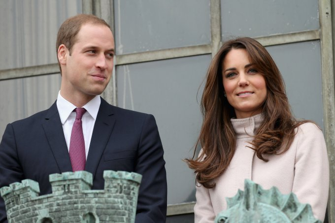 Principe William e Kate Middleon