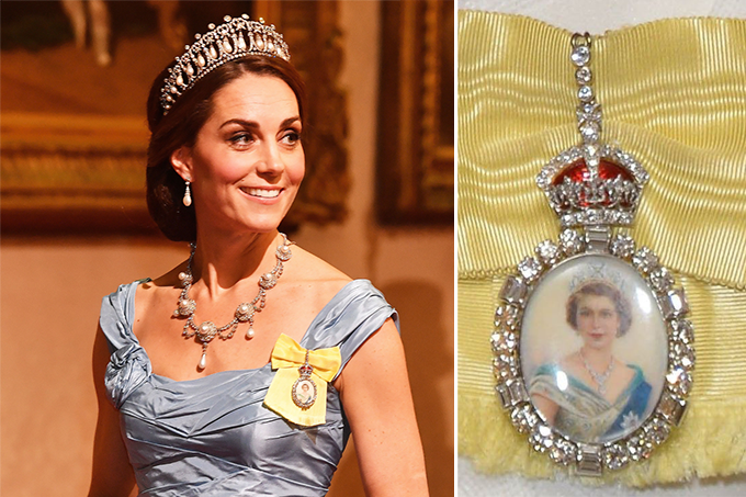 kate middleton e ordem da familia real