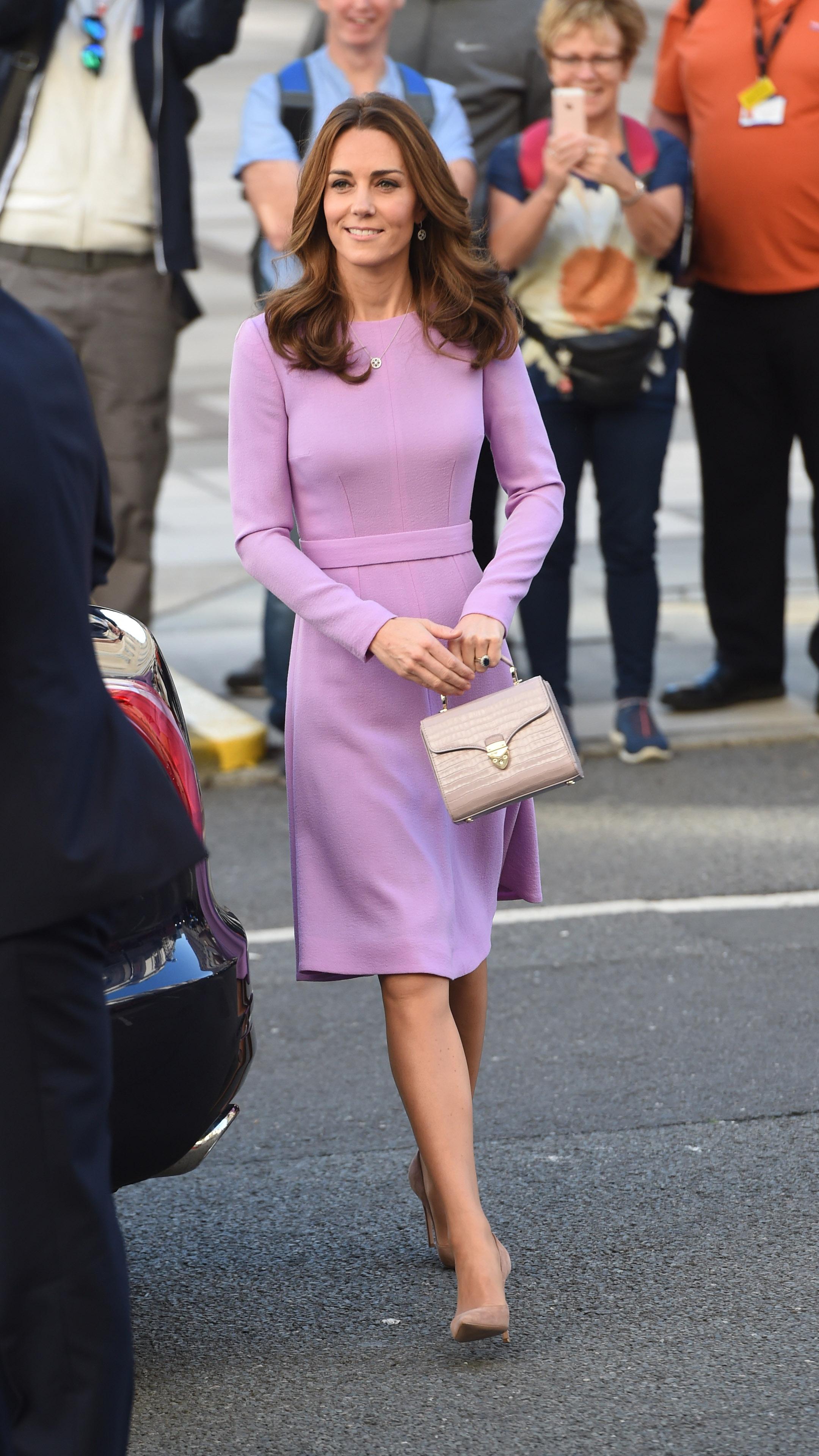 Kate Middleton Vestido Lilás