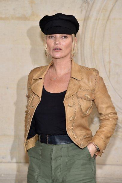 Kate Moss no desfile da Dior