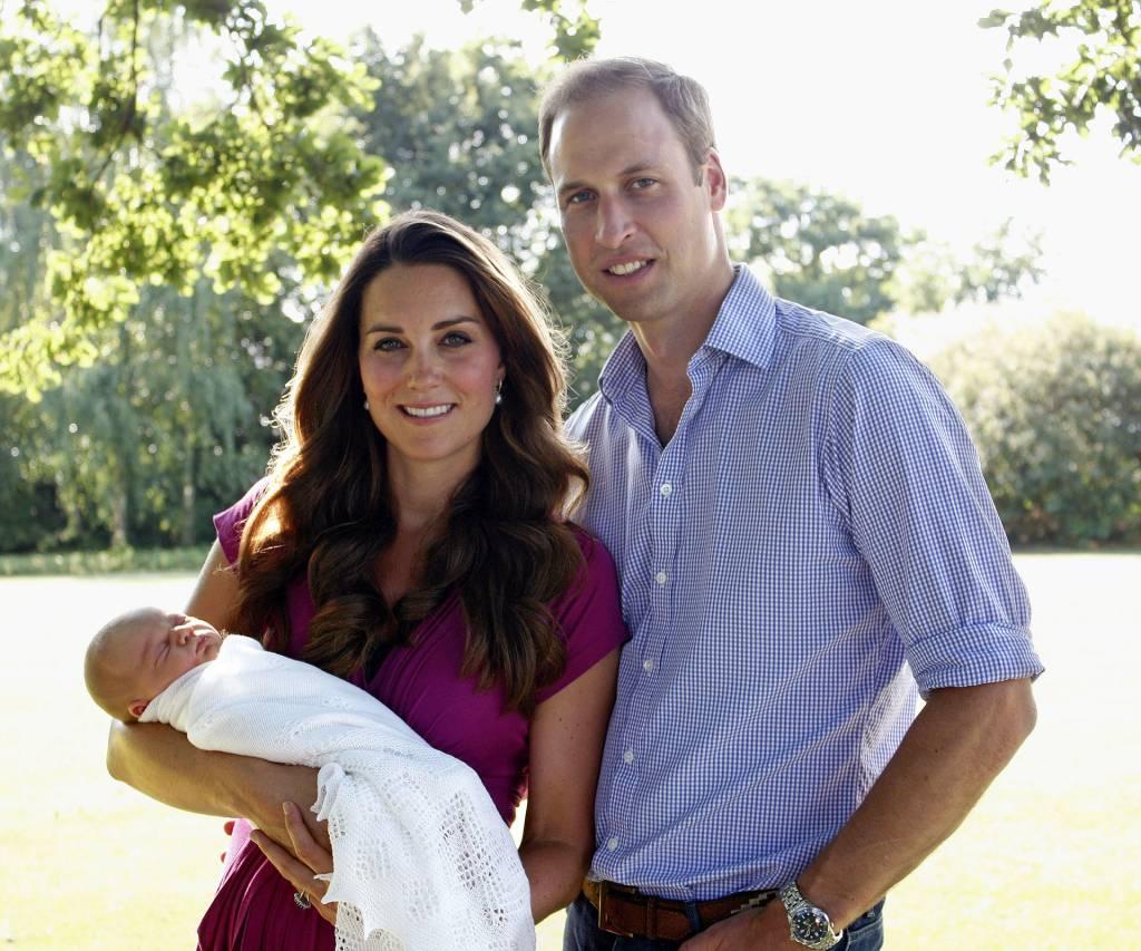 Kate Middleton, Príncipe William e George