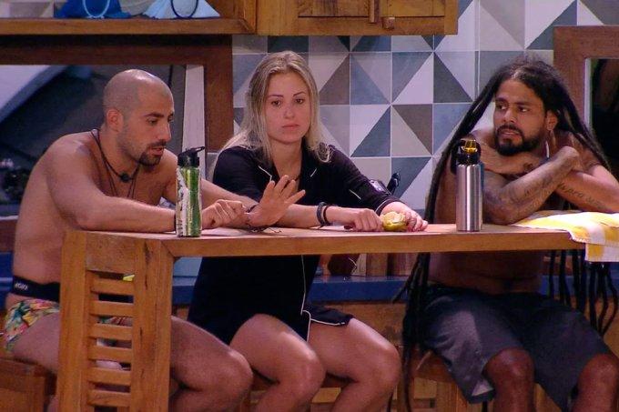 Kaysar, Jéssica, Viegas BBB18