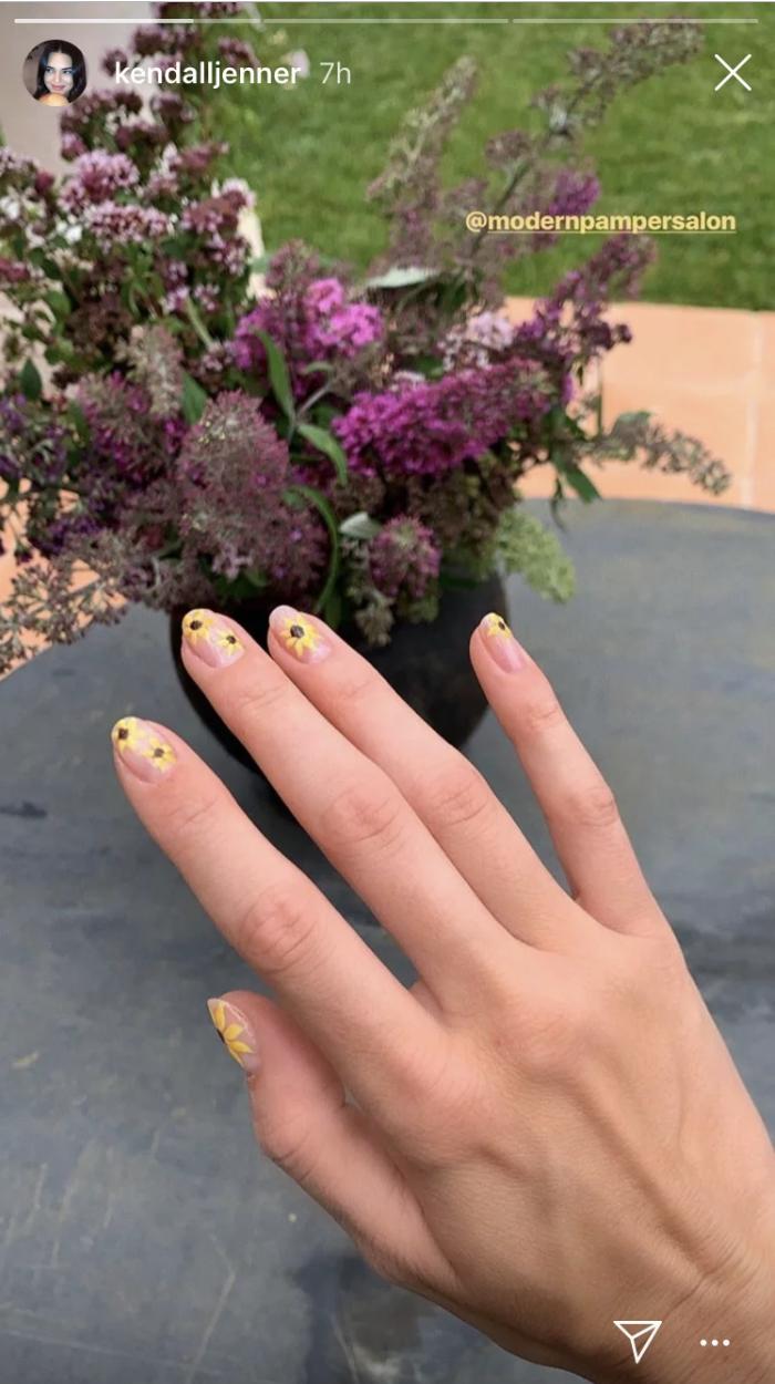kendall nail art