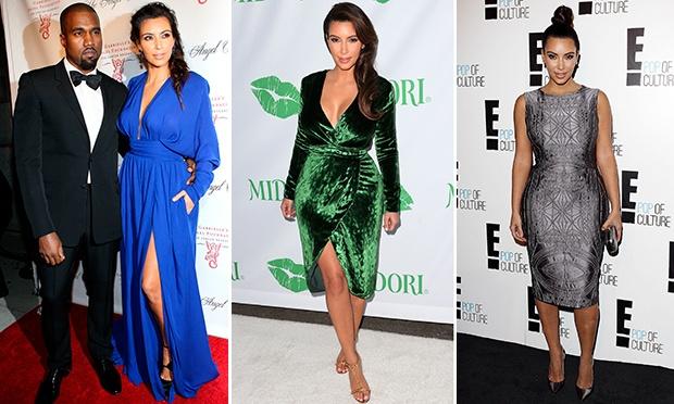 O estilo de Kim Kardashian