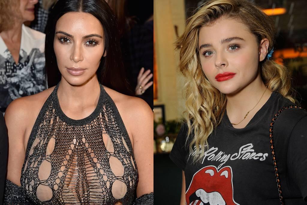 Kim Kardashian e Chloe Moretz