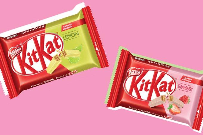 Kit Kat – novos sabores