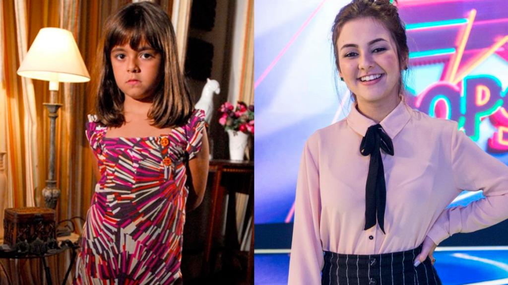 Klara Castanho, antes e depois