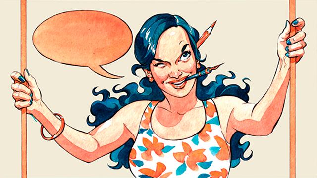 Facebook/Lady's Comics