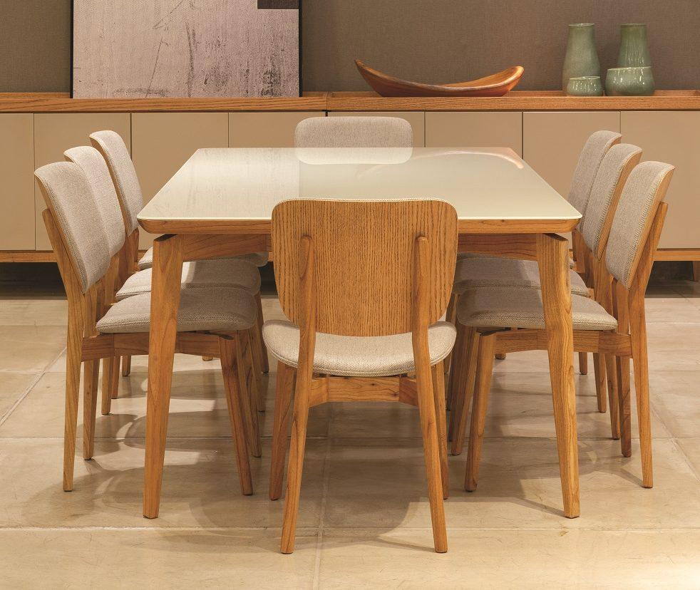 mesa com cadeiras Lider