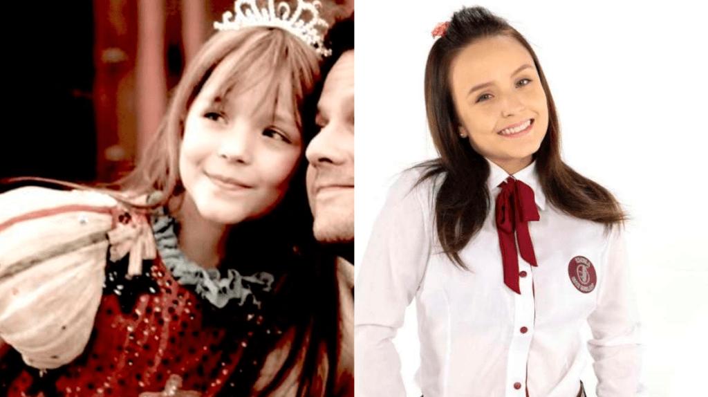 Larissa Manoela, antes e depois