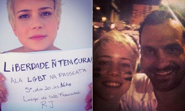 """Leandra Leal: """"Atuar está no meu DNA"""""""