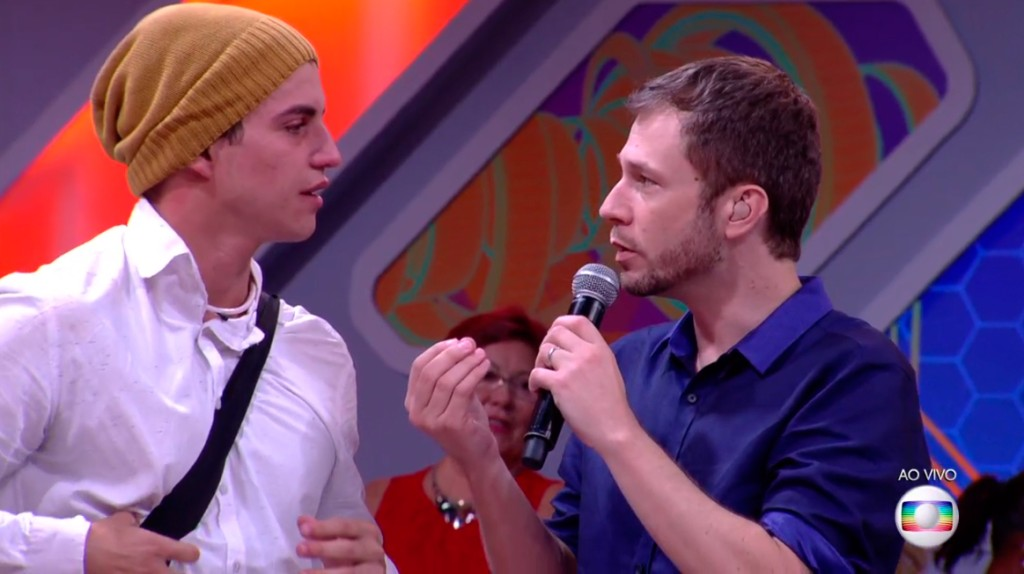 Leifert conversa com Manoel BBB17