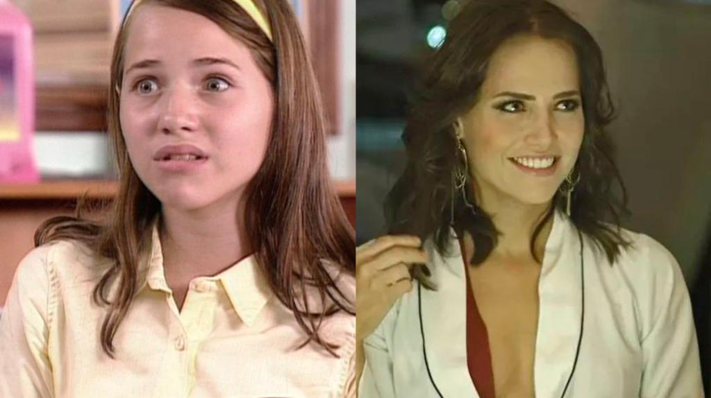 Letícia Colin antes e depois