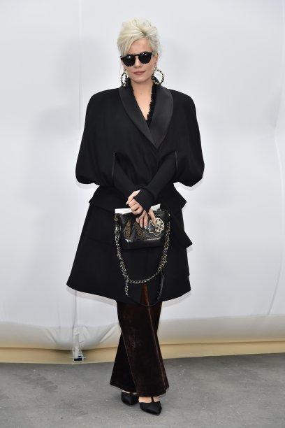 Lily Allen no desfile da Chanel