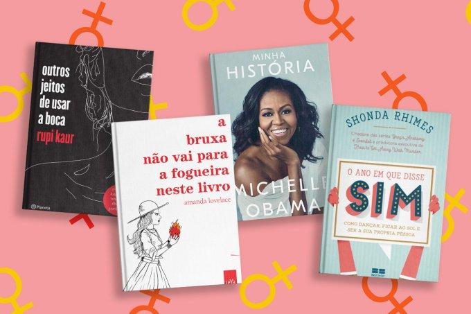 Destaque da matéria sobre 16 livros escritos por mulheres