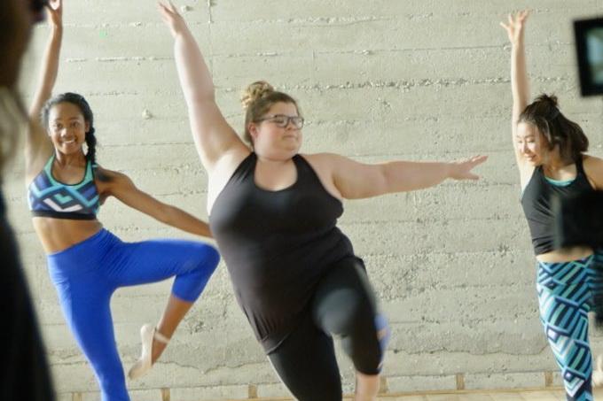 Lizzy bailarina plus size