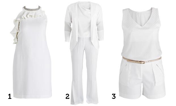 Moda plus size: três looks brancos para arrasar no Ano Novo